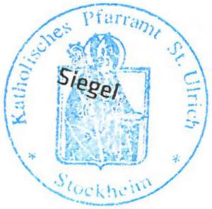 Siegel St Ulrich